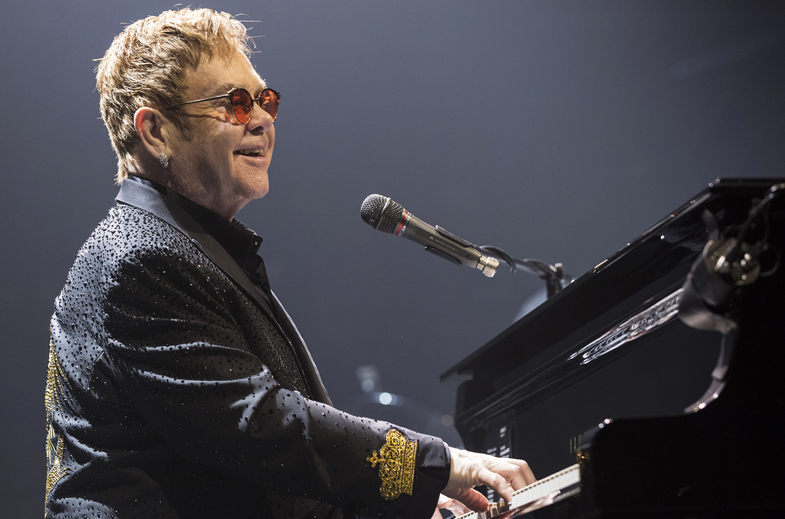 Elton John Performs At Save On Foods Memorial Centre