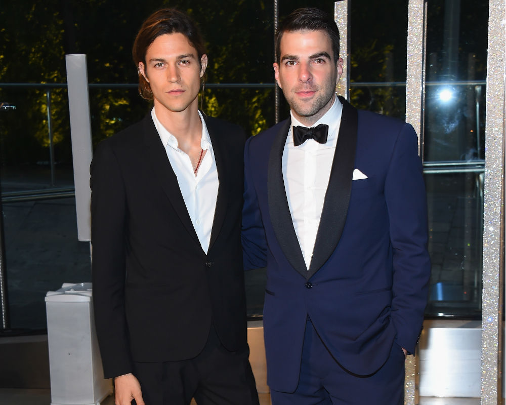 Zachary Quinto And Miles McMillan