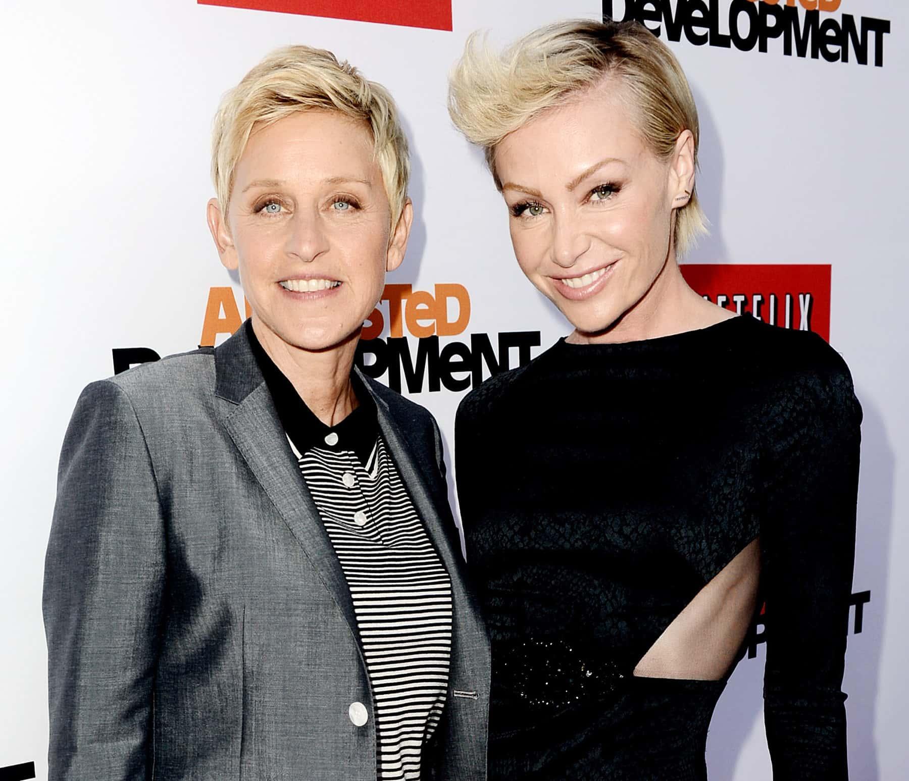 Ellen DeGeneres Portia De Rossi1