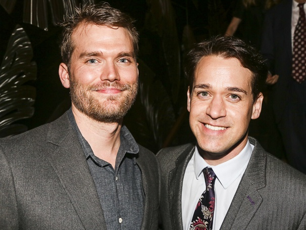T. R. Knight And Patrick Leahy1