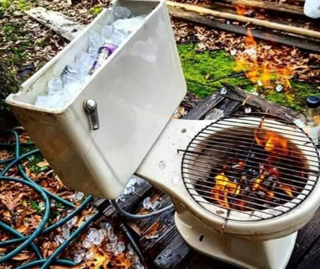 A Crappy Barbecue