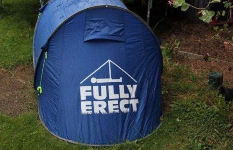 He Pitched His Tent