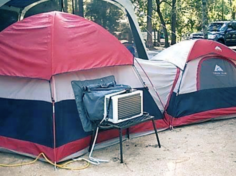 Cheating At Camping