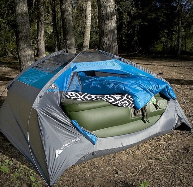 When The Bed Is Bigger Than The Tent