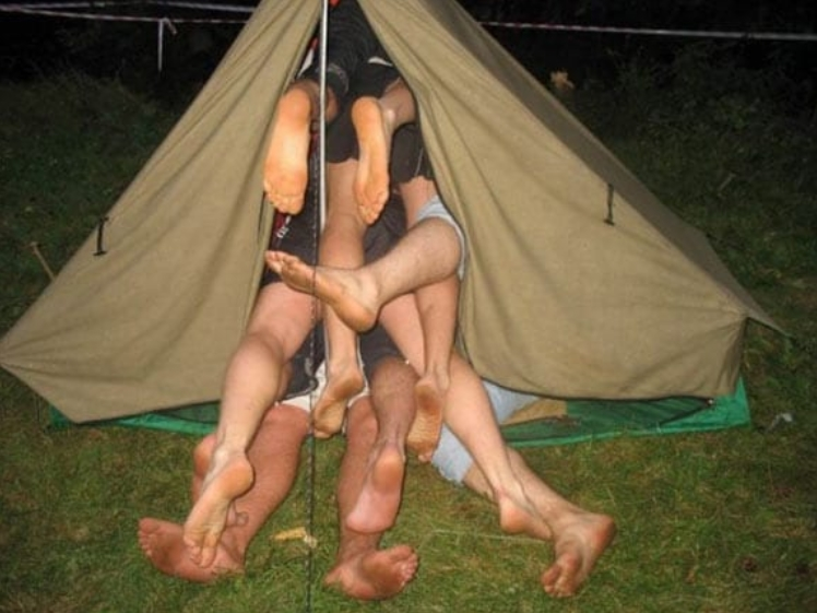 Who Said Its A Two Man Tent