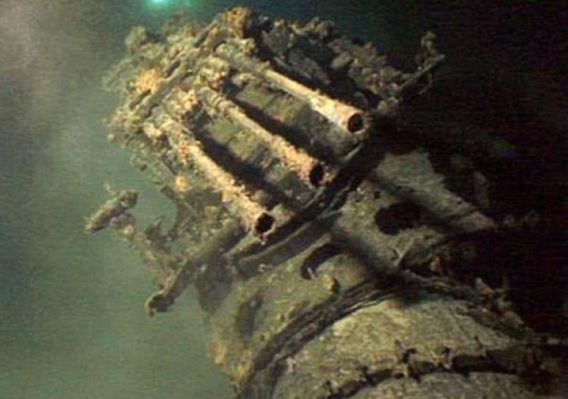 Missing Japanese Mega Submarine Found