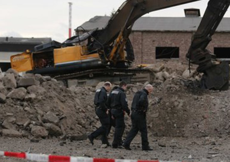 WWII Bomb Kills Construction Driver
