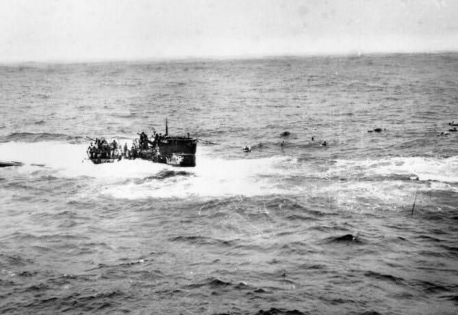 German Sub Found Near Nantucket