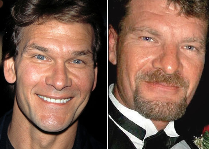Patrick Swayze Jason Whittle 40 Years Old