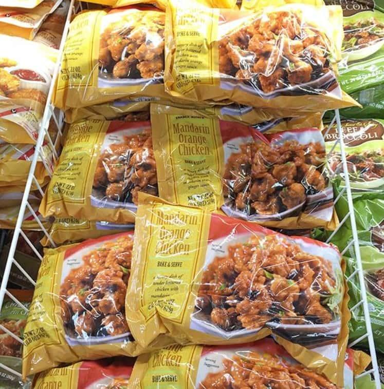Most Popular Item Mandarin Orange Chicken